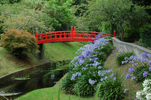 oamaru public gardens mit vielen themen. Black Bedroom Furniture Sets. Home Design Ideas